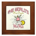 Angelic Mema Framed Tile
