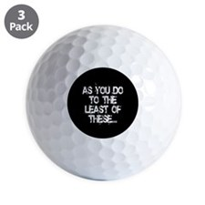 Least of these... Golf Ball