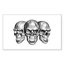 Skulls Rectangle Decal