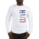 Cute Haitian men Long Sleeve T-Shirt