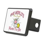 Angelic New Mom Rectangular Hitch Cover