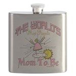Angelic New Mom Flask