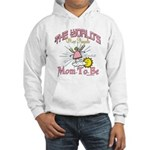 Angelic New Mom Hooded Sweatshirt