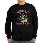Angelic New Mom Sweatshirt (dark)