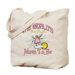 Angelic New Mom Tote Bag