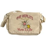 Angelic New Mom Messenger Bag