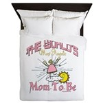 Angelic New Mom Queen Duvet
