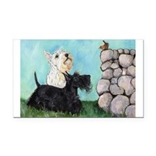 Scotties Wren 9.5x7.png Rectangle Car Magnet