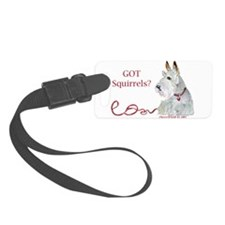 Got Squirrels for cafe 11x14.png Luggage Tag