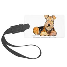 Happiness 8x8 2006.png Luggage Tag