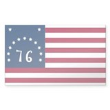 Bennington Flag Decal