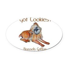 Got Cookies mug.png Oval Car Magnet