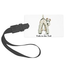 Wire Fox Terrier Tail WFT Luggage Tag