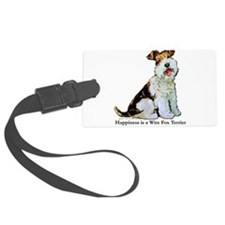 Happiness 8x8.png Luggage Tag