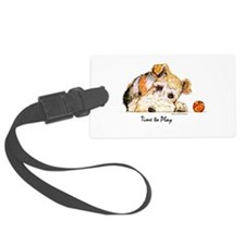 Wire w Ball 10x10 B.png Luggage Tag