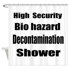 Bio Hazard Shower Curtain