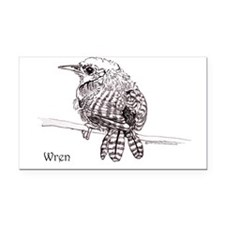 Wren 10x6.png Rectangle Car Magnet