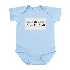 Martial Arts Black Belt Infant Bodysuit