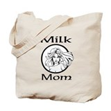 Milk Mom Custom Tote Bag two sided print