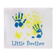 Little Brother. Messy. Throw Blanket