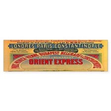 Orient Express Bumper Sticker