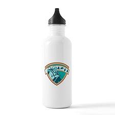 Pest Control Exterminator Worker Shield Water Bottle