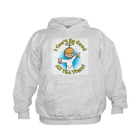 I Can't Be Good (boy) Kids Hoodie