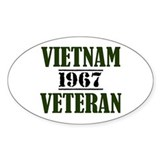VIETNAM VETERAN 67 Decal