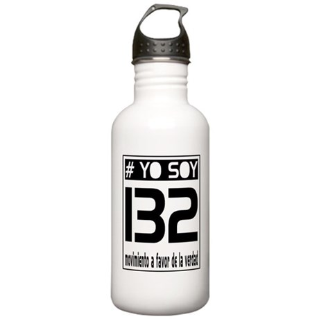 Yo Soy 132 Block Stainless Water Bottle 1.0L