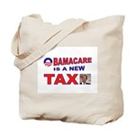 OBAMACARE TAX.jpg Tote Bag