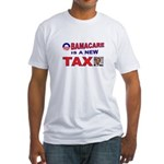 OBAMACARE TAX.jpg Fitted T-Shirt