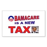 OBAMACARE TAX.jpg Sticker (Rectangle)