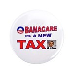 "OBAMACARE TAX.jpg 3.5"" Button (100 pack)"