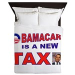 OBAMACARE TAX.jpg Queen Duvet