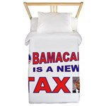 OBAMACARE TAX.jpg Twin Duvet