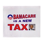 OBAMACARE TAX.jpg Throw Blanket