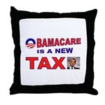 OBAMACARE TAX.jpg Throw Pillow