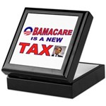OBAMACARE TAX.jpg Keepsake Box