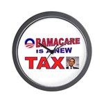 OBAMACARE TAX.jpg Wall Clock
