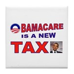 OBAMACARE TAX.jpg Tile Coaster