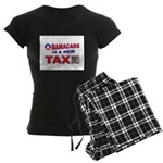 OBAMACARE TAX.jpg Women's Dark Pajamas