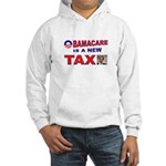OBAMACARE TAX.jpg Hooded Sweatshirt