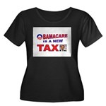 OBAMACARE TAX.jpg Women's Plus Size Scoop Neck Dar