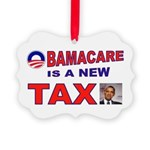 OBAMACARE TAX.jpg Picture Ornament
