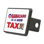 OBAMACARE TAX.jpg Rectangular Hitch Cover