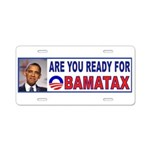 OBAMACARE TAX.jpg Aluminum License Plate
