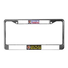 OBAMACARE TAX.jpg License Plate Frame