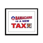 OBAMACARE TAX.jpg Framed Panel Print