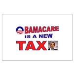 OBAMACARE TAX.jpg Large Poster