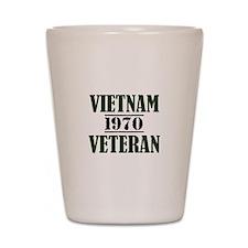 VIETNAM VETERAN 70 Shot Glass